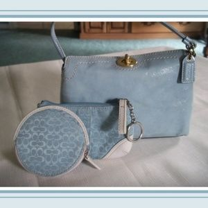 COACH On The Go! Mini Bag, Key/Wallet Change Pouch